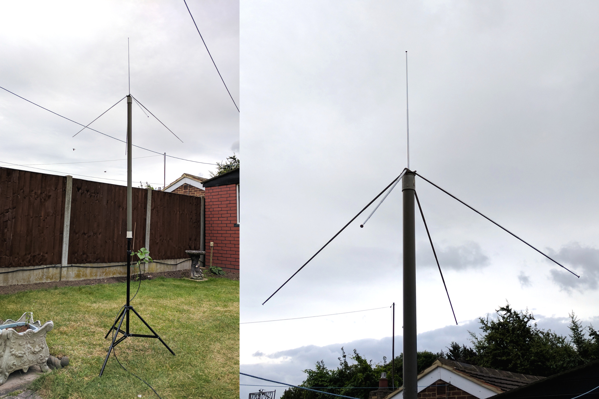 2m 145MHz Quarter Wave Antenna