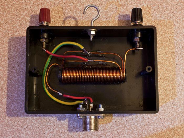 1:1 ferrite rod voltage balun