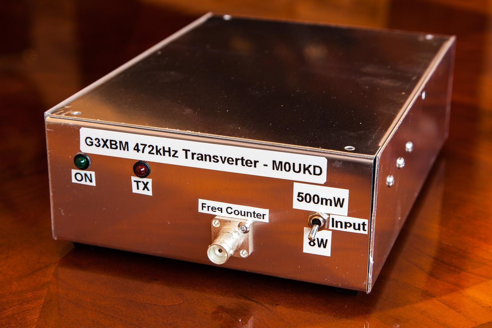 432kHz Transverter, front.