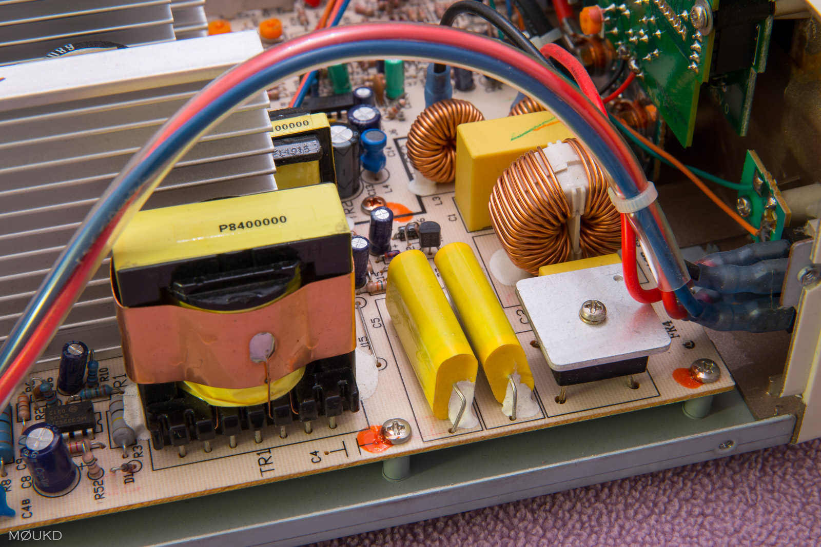 Bridge rectifier and PFC section