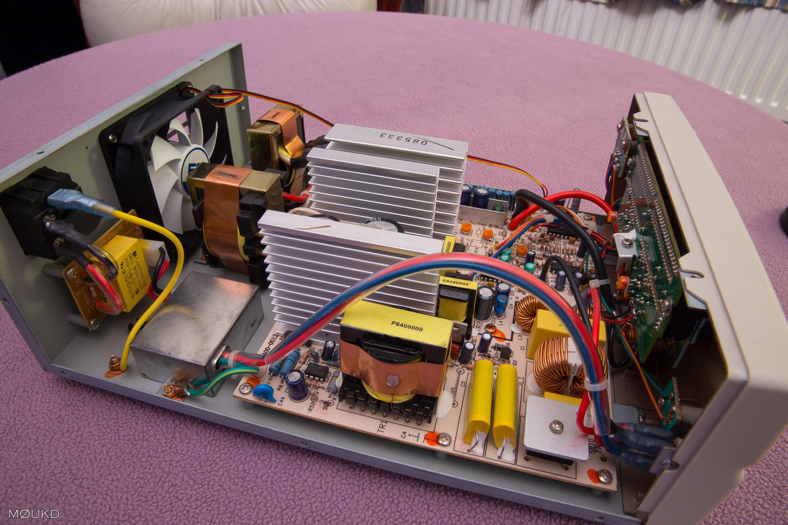 High voltage side