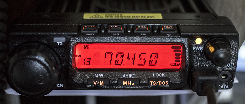 Anytone AT-588 on 70MHz