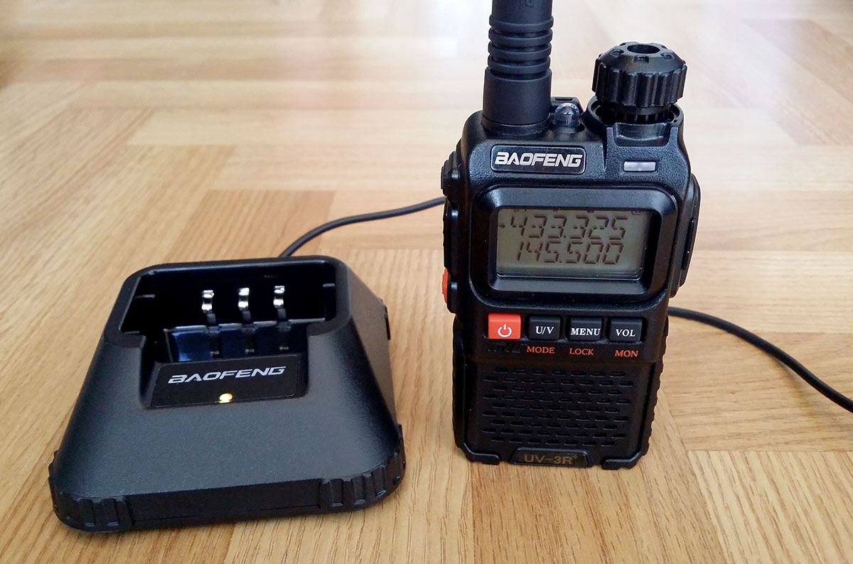Baofeng Ch 3 Desktop Charger M0ukd Amateur Radio Blog