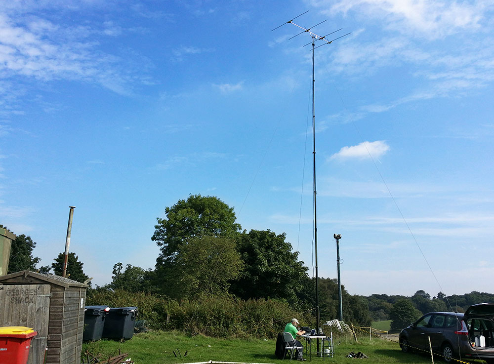 RSGB 2nd 70MHz Contest at Kelvedon Hatch