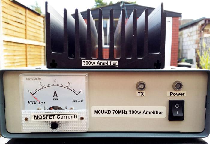 70MHz 300w MOSFET Linear Amplifier
