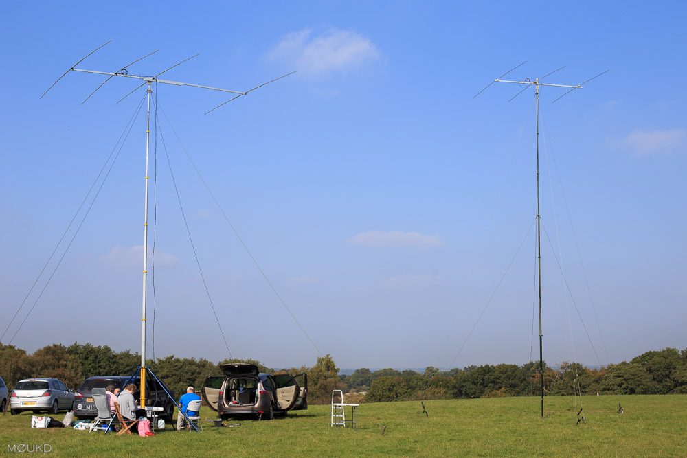 RSGB 21/28MHz Contest - 4th October 2015. Operating from Kelvedon Hatch Secret Nuclear Bunker.